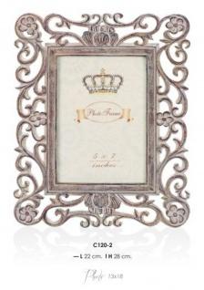 Casa Padrino Barock Bilderrahmen Antik Stil 28 x 22 cm - Bilder Rahmen Foto Rahmen Jugendstil Antik Stil Mod AX18