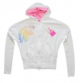 Fornarina Skateboard Damen Zip Sweater Shila White