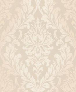 Casa Padrino Barock Textiltapete Creme 10, 05 x 0, 53 m - Wohnzimmer Tapete - Deko Accessoires im Barockstil