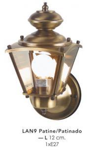 Wunderschöne Wandleuchte im nostalgischen Stil von Casa Padrino - Antik Leuchte Lampe