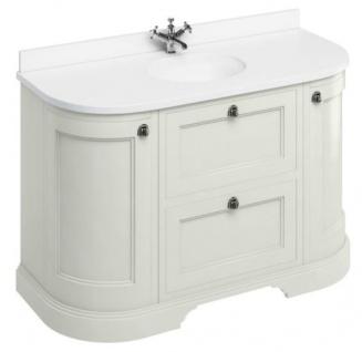 Casa Padrino Waschschrank / Waschtisch mit Marmorplatte Türen und Schubladen