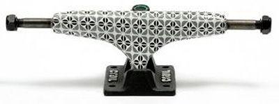 Crail Skateboard Achsen Set 129 LOW LIGHT Pattern Pavement weiß/schwarz (2 Achsen)