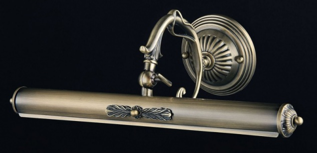 Casa Padrino Jugendstil Wandleuchte Bronze 44 x H 17 cm Jugendlicher Stil - Wandlampe Wand Beleuchtung