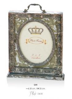 Casa Padrino Barock Bilderrahmen Antik Stil 25 x 20 cm - Bilder Rahmen Foto Rahmen Jugendstil Antik Stil Mod AX15