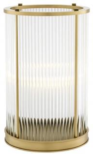 Casa Padrino Luxus Kerzenleuchter Antik Messing 20 x H. 32 cm - Hotel Restaurant Accessoires