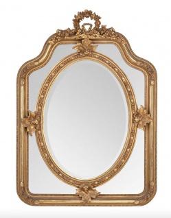 Casa Padrino Barock Spiegel Gold 90 x H 120 cm - Wandspiegel Antik Stil Wohnzimmermöbel