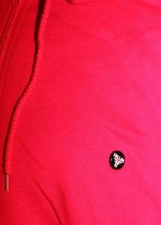 Fallen Skateboard Hooded Zip Sweater Jacke Red Button Logo - Vorschau 2