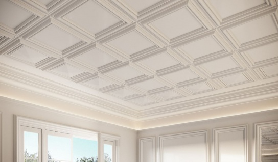 Casa Padrino Wandpaneel / Deckenpaneel Weiß 50 x 3, 2 x H. 50 cm - Barock & Jugendstil Deko Accessoires - Vorschau 3