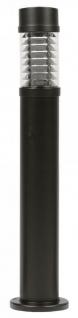 Casa Padrino Luxus Außenleuchte Gartenleuchte Terrassenlampe Schwarz Ø 12, 5 x H. 88 cm - Wetterbeständige pulverbeschichtete Aluminium Lampe