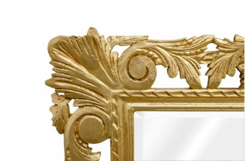 Casa Padrino Barock Spiegel Gold Handgefertigt 193 x 110 cm - Holzspiegel - Barock Möbel - Vorschau 2