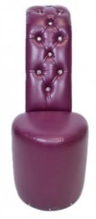 Billig#7166Casa Padrino High Lila Heel Sessel mit Dekosteinen Lila High Luxus Design - Designer Sessel - Club Möbel - Schuh Stuhl Sessel--Gutes Preis-Leistungs-Verhältnis, es lohnt sich 817da3