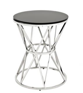 Casa Padrino Luxus Art Deco Designer Beistelltisch 44 x H. 55 cm - Hotel Tisch Möbel