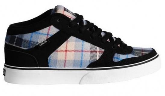 Circa Skateboard Schuhe 8 TRack Schwarz/Blau Originals