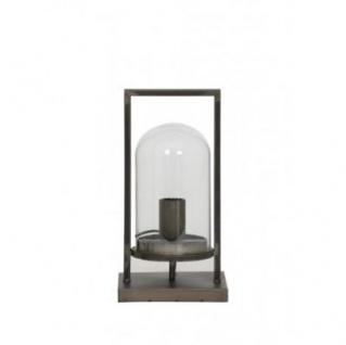 Casa Padrino Tischleuchte Antik Schwarz 17 x 14 x H 32, 5 cm - Leuchte - Tischleuchte - Vorschau 2