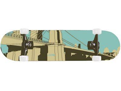 Krown Skateboard Komplettboard Bridge 8.0 Complete Board