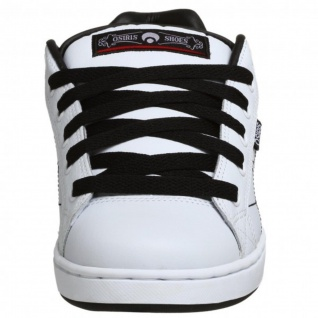 Osiris Skateboard Schuhe Troma II Kids White/Black/Red/Webs - Vorschau 3