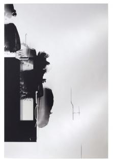 Casa Padrino Designer Wohnzimmer Wandspiegel Schwarz 101 x H. 150 cm - Luxus Möbel