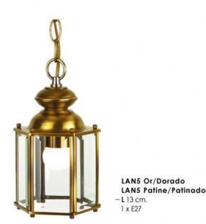 Wunderschöne Pendelleuchte im nostalgischen Stil / Antik, Breite 13 cm, Leuchte Lampe