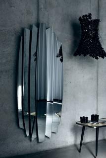 Casa Padrino Luxus Designer Spiegel 87 x H. 190 cm - Wohnzimmer Wandspiegel