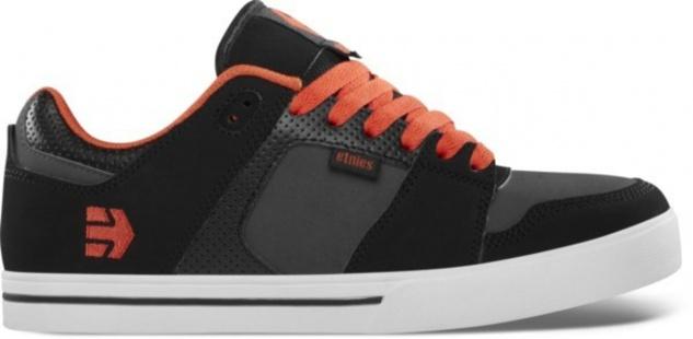 Etnies Skateboard Schuhe Rockfield Black/Dark Grey/Red Etnies Shoes
