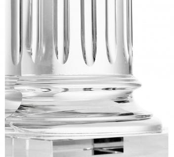 Casa Padrino Kristallglas Buchstützen 2er Set 17 x 8, 5 x H. 21 cm - Designer Hotel Deko - Vorschau 3