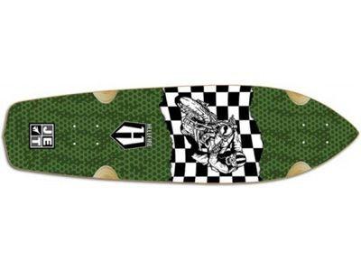 """Hellfire Skateboard Longboard by Jet HellaRider 34 CafeRacer Longboard Deck 9.25"""" x 34"""""""