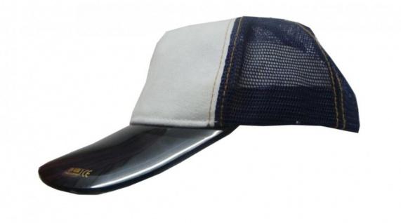 Mesh Trucker Cap Blue/White Skateboard BMX Surf Cap