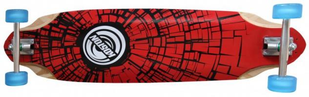Koston Longboard Profi Komplettboard Cruiser / Carver Break 36.7 x 10.0 inch Blue Wheels - High End Longboard Carving Board