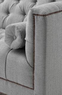 Casa Padrino Luxus Designer Hotel Sessel Grau - Luxus Hotel Möbel - Vorschau 2