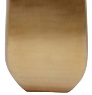 Casa Padrino Designer Vase Gold 25 x 12 x H. 66 cm - Designer Deko - Vorschau 3