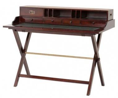 Casa Padrino Reiseschreibtisch mit 5 Schubladen - Luxus Schreibtisch