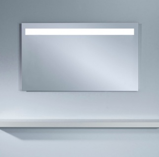 Casa Padrino Badezimmerspiegel mit LED Licht und Bewegungssensoren 120 x H. 70 cm - Luxus Badezimmermöbel