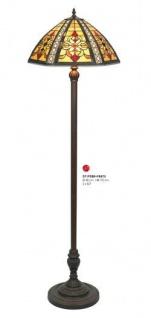 Tiffany Stehleuchte Höhe 170 cm, Durchmesser 48 cm DT19288+FBB75 Leuchte Lampe