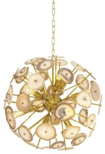 Casa Padrino Kronleuchter Gold Durchmesser 60 cm - Luxus Qualität
