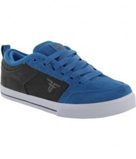 Fallen Skateboard Schuhe CLIPPER SE Blaue Gunmetal