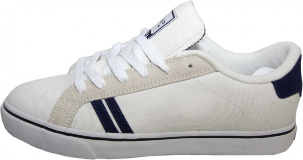 Emerica Skateboard Schuhe Leo SMU White / Grey / Navy - Sneaker Sneakers Skateboard Shoes