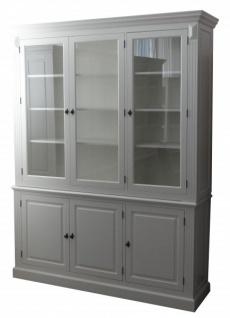 Großer Shabby Chic Landhaus Stil Schrank mit 4 Türen - Buffetschrank - Schrank Esszimmer - Vorschau