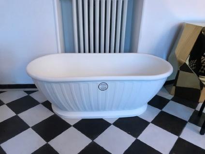 Casa Padrino Freistehende Luxus Jugendstil Badewanne Weiß 169 x 80 x H. 57 cm - Luxus Qualität - Vorschau 2