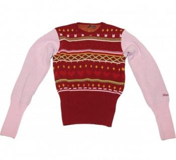 Ragwear Knitweare Sweaters Kara Red Sweater - Vorschau