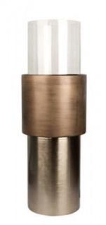 Casa Padrino Luxus Kerzenhalter / Teelichthalter Bronze Ø 35 x H. 99 cm - Hotel & Restaurant Deko - Vorschau 1