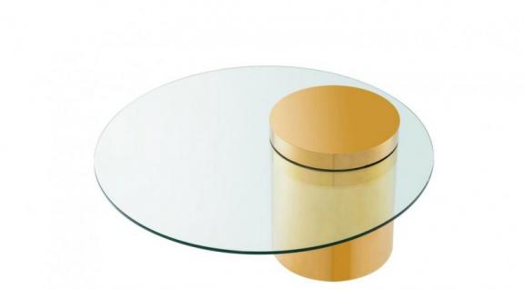 Casa Padrino Art Deco Luxus Couchtisch Gold - Limited Edition - Vorschau 2