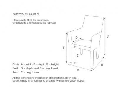 Casa Padrino Luxus Stuhl mit Armlehne Weiß - Luxus Kollektion - Vorschau 3