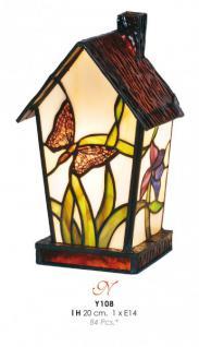 Tiffany Tischleuchte Höhe 20cm Y108 Leuchte Lampe