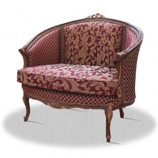 Casa Padrino Barock Wohnzimmer Salon Sessel 90 x 60 x H. 90 cm - Limited Antik Stil Edition