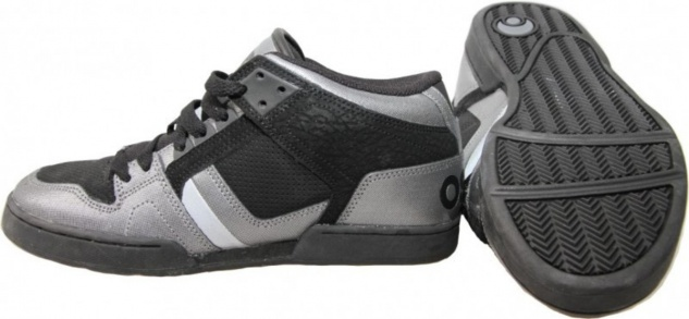 Osiris Skateboard Schuhe South Bronx CHR/Black/Silver