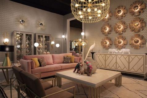 Casa Padrino Luxus Vitrine Grau 110 x 42 x H. 220 cm - Edler Massivholz Vitrinenschrank mit 2 Glastüren - Luxus Wohnzimmer Möbel - Vorschau 3