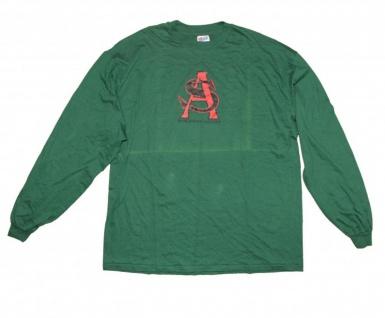 Hanes Skateboard Langarm T-Shirt Salman Agah Green 1 B Ware