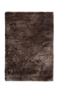 Casa Padrino Designer Teppich Unicolor Dunkelbraun - Möbel Teppich