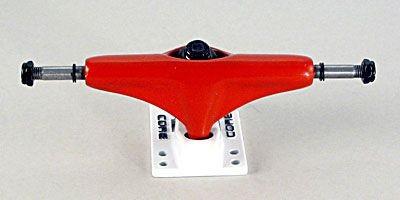 Core Skateboard Achsen Set 5.0 neon rot/weiß (2 Achsen)