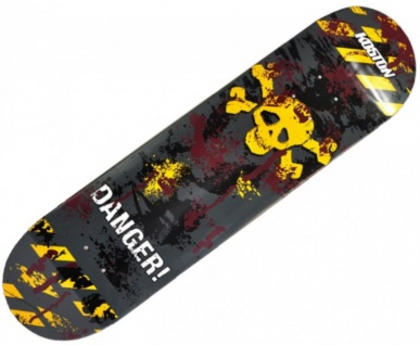 Koston Skateboard Deck Dangerous Road 7.75 x 31.75 inch